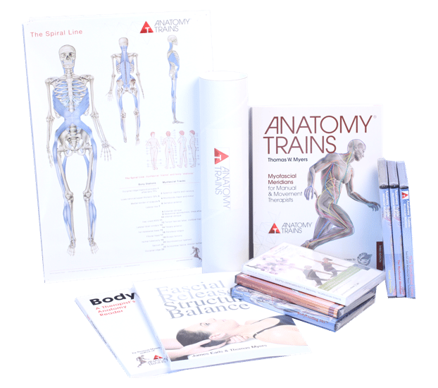 Anatomy Trains For Movement Therapy Book Dvd Package