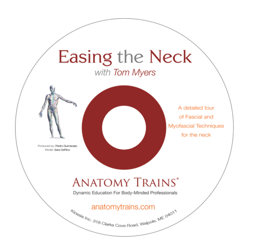 Easing the Neck DVD Disc Label