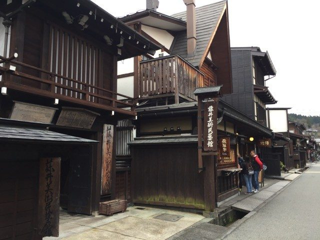 maintained buildings from the edo-period