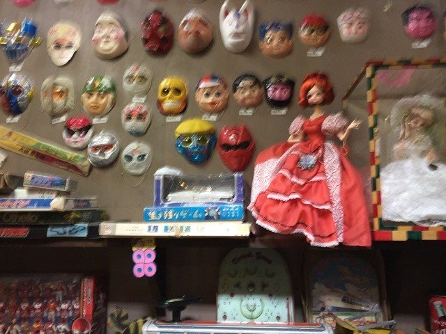 Japanese Toys and Masks