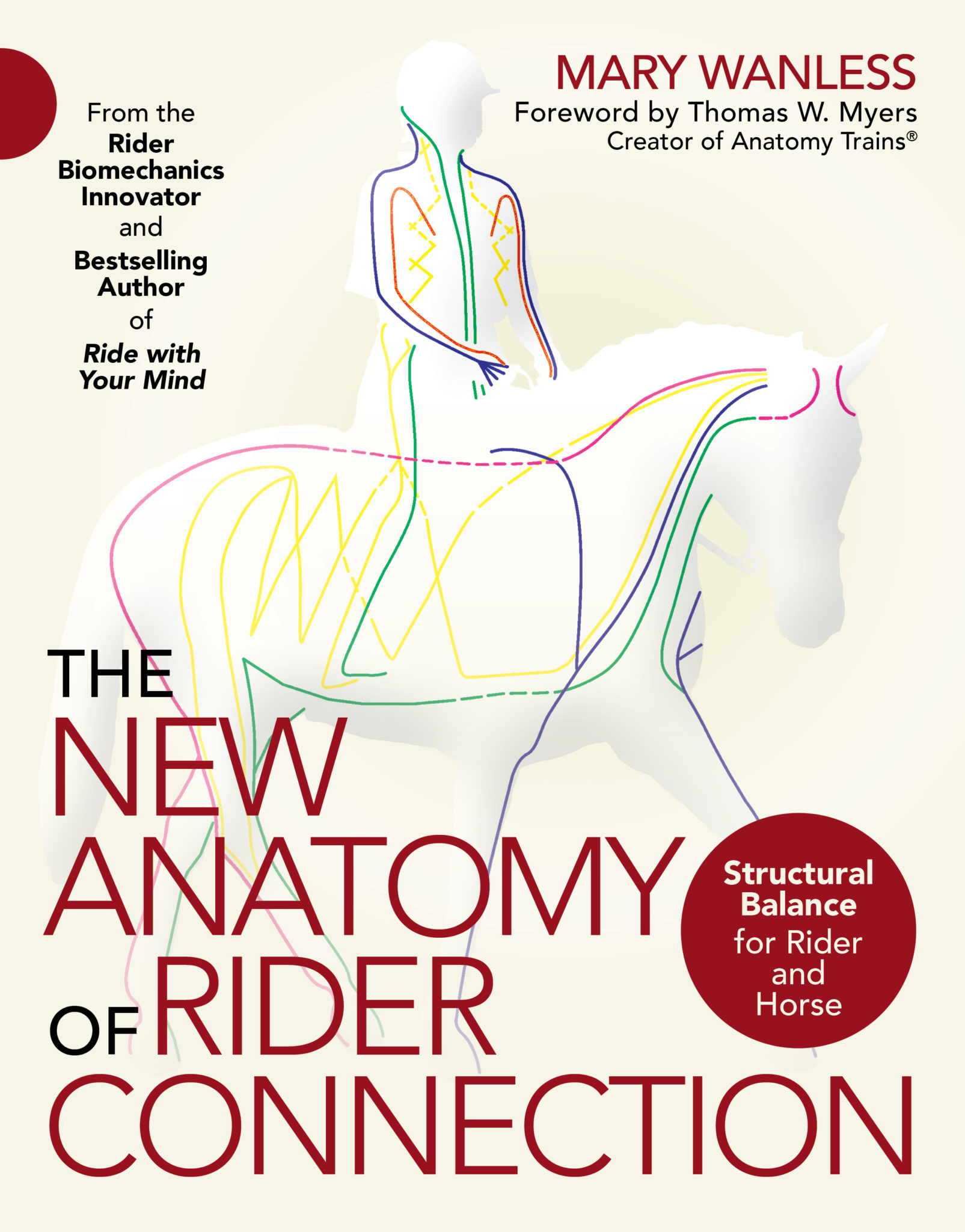 The New Anatomy of Rider Connection Book by Mary Wanless