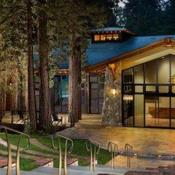 Evening at Redwood Auditorium